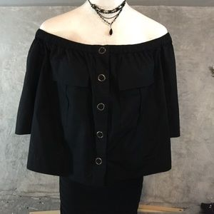 NWT Free People Off the Shoulder Top